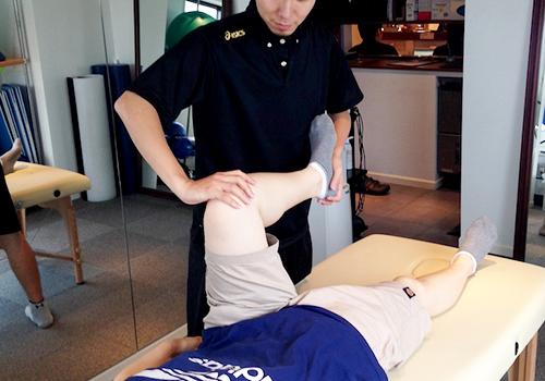 骨盤調整&パーソナルトレーニングの動きのチェック