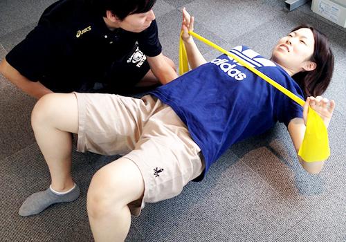 骨盤調整&パーソナルトレーニングのエクササイズ
